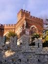 замок de albertis Стоковое Изображение RF