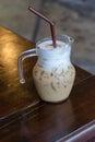 замороженный кофе Стоковое Фото