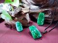 зеленый нефрит Стоковые Изображения