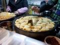 известная закуска в fuzimiao нанкина Стоковое Изображение