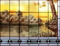 искусство nouveau в брюссе е Стоковое Фото
