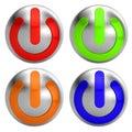 кнопка с поворота Стоковое Фото
