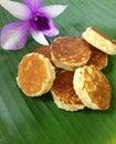 кокос тайск  есерта Стоковое Изображение RF