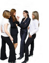 команда деловой встречи Стоковая Фотография