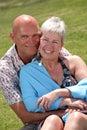 красивейшие пары зреют Стоковые Фотографии RF