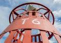 красный томбуй t Стоковые Фотографии RF