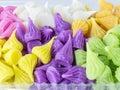 красочные тайские  есерты Стоковое фото RF