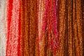 красочные ткани Стоковая Фотография RF
