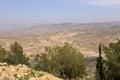 лан шафт горы пустыни ви с воз уха джор ан б ижний восток Стоковые Изображения