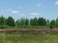 лан шафт лета Стоковые Фотографии RF