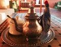 морокканский чай Стоковая Фотография