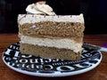 мягкий кофе торта Стоковая Фотография