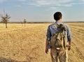 на  ороге Стоковое Изображение RF