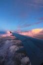 небо мухы Стоковое Изображение