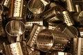 нержавеющая сталь беспорядка Стоковое фото RF