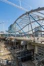 новая станция utrecht Стоковая Фотография RF
