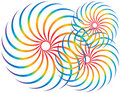 обтекатели втулки спектра Стоковые Изображения RF