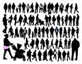 обычные люди Стоковое Изображение