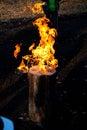 огонь швеции Стоковая Фотография RF