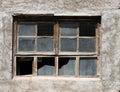 постаретое окно Стоковые Фотографии RF