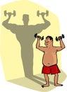 поднимаясь весы Стоковые Изображения