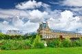 припаркуйте des tuileries и жа юзи museum paris францию Стоковая Фотография RF
