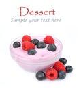 Продукт Dessert.Dairy Стоковые Фото