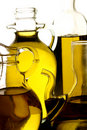 разнообразие оливки масла Стоковые Изображения RF