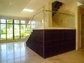 Самомоднейший дизайн интерьера - лестница Стоковая Фотография RF