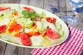 свежий овощ салата Стоковое фото RF
