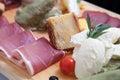 сербская тра? иционная закуска Стоковое Изображение RF