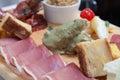 сербская тра? иционная закуска Стоковые Изображения