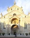 собор верона венето ита ия европа Стоковое Изображение RF