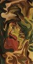 собственная личность портрета Стоковое Изображение RF