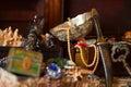 сокровище dof комодов отмелое Стоковое Фото