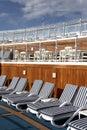 солнце палубы Стоковая Фотография RF