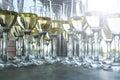 стек а шампани   я события приема Стоковая Фотография RF