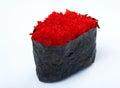 суши специи с икрой sauced кусками Стоковое Фото