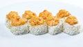суши специи с sauced кусками Стоковая Фотография