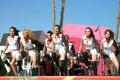 танцоры самомоднейшие Стоковое Фото