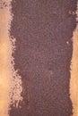 текстура ржавчины оста ьных бо ее г убокого фокуса штанги  евая Стоковая Фотография