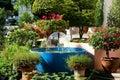 фонтан во ы Стоковое Фото