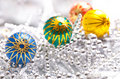 цвет chirstmas шариков Стоковые Изображения