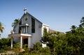 церковь catholic на се ьской местности провинции bentre Стоковая Фотография RF