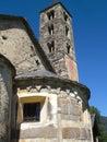 церковь st nicolao в giornico Стоковое Изображение