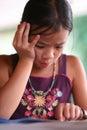 чтение ребенка Стоковые Фотографии RF