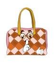 шарж сумки женщины Стоковые Фотографии RF