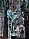 шкафы связи Стоковые Фотографии RF