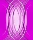 э егантная абстрактная фио етовая пре посы ка Стоковое Фото