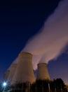 э ектростанция Стоковое Изображение RF